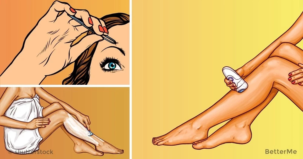 8 effective and 1 permanent hair removal options