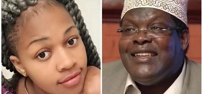Red-hot slay queen begs Miguna Miguna to unblock her on Twitter and Kenyans go bonkers