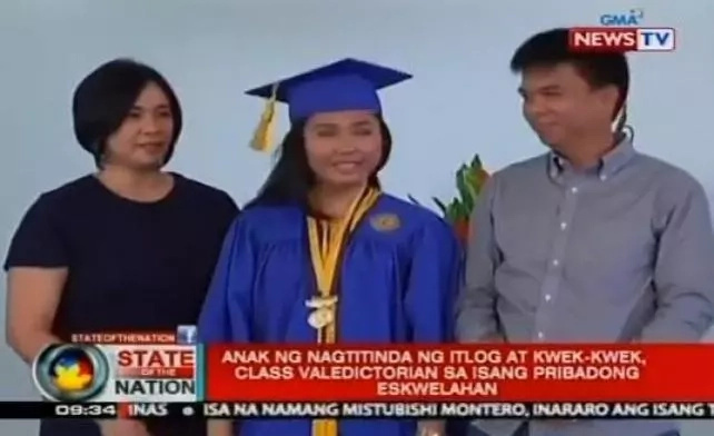 HS Valedictorian's Parents Are Street Food Vendors, Inspires Many