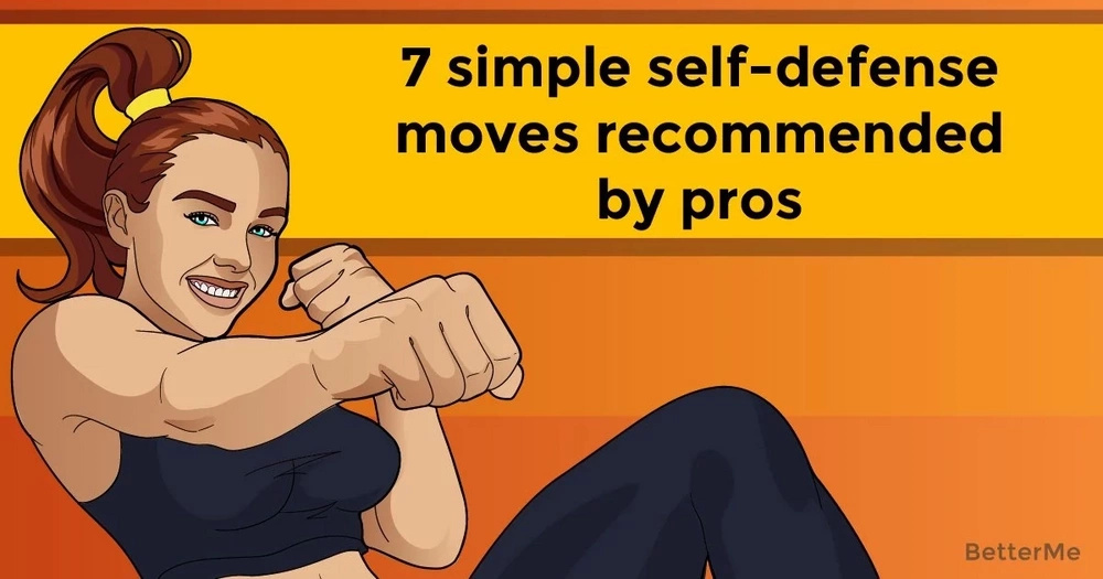 7 simple self-defense moves recommended by pros