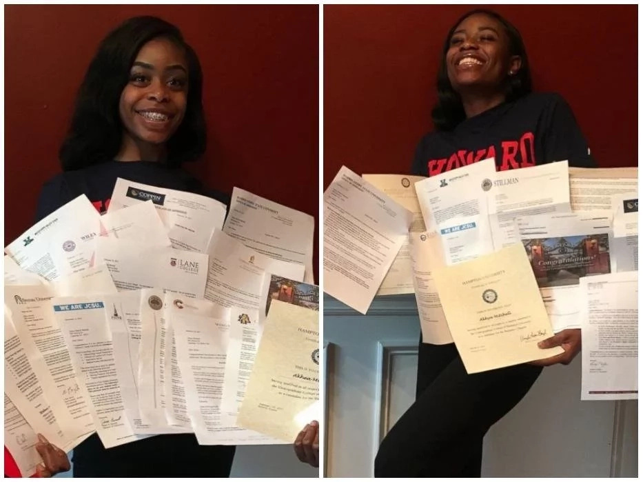 These twins receive 40 college acceptances from 15 different states, Ghc3.6m in scholarship (photos)