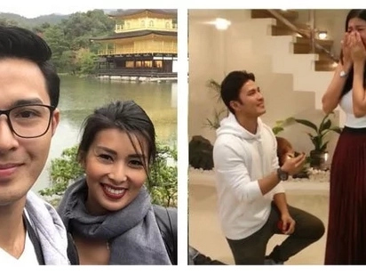 Pahabol bago matapos ang taon! Alex Castro and Sunshine Garcia are now engaged