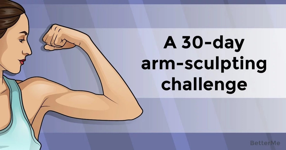 A 30-day arm-sculpting challenge