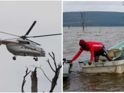 Rescuers retrieve 3 bodies from Lake Nakuru, 72 hours after the unfortunate chopper crash