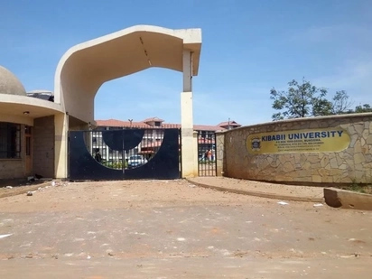 Bungoma county varsity student falls to his death after being busted stealing