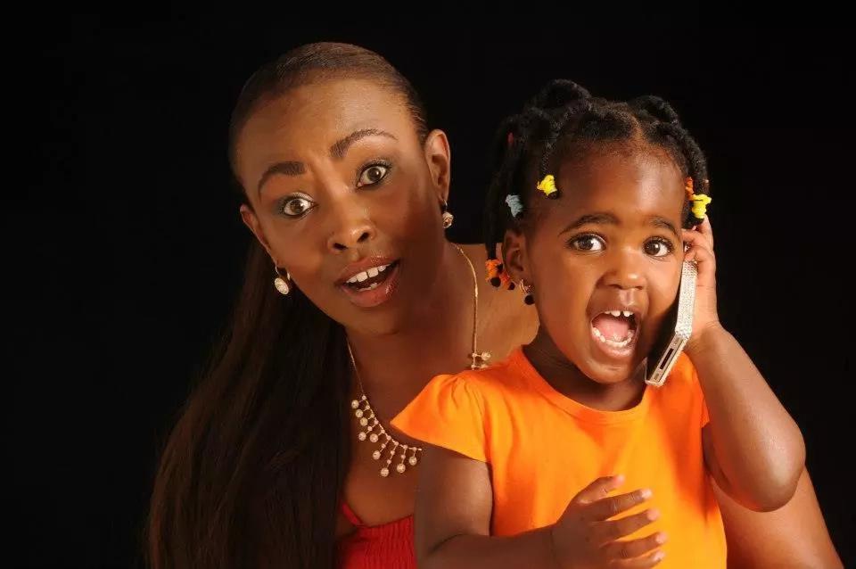 Bintiye Caroline Mutoko amekua sana…tazama picha za hivi punde
