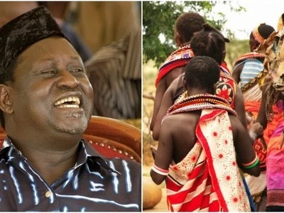 Wanawake wa Samburu walioandamana dhidi ya Raila KULAANIWA na wazee zaidi ya 1000 wa kijamii!