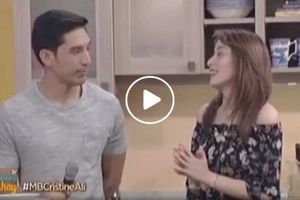Cristine Reyes reveals some secrets about her Balesin marriage to Ali Khatibi on 'Magandang Buhay'