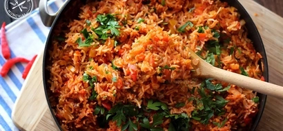 13 pictures of delicious & beautiful jollof rice that will make you hungry