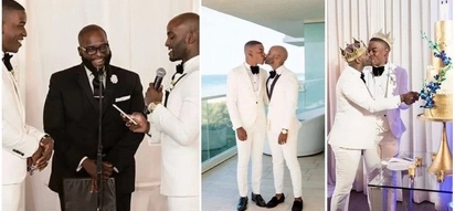 Happily in love! Gay wedding of Kenyan couple aged 25 and 27 generates debate online