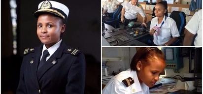 Inspiring! Meet Kenya's first female marine pilot, 27, who hopes to break down gender imbalances