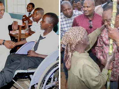 5 times when Uhuru Kenyatta came out as the most humble president ever (photos)