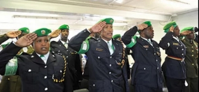 Why Kenyan police officers are being honored in Somalia