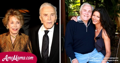 Kirk Douglas turned 101. On this day, Catherine Zeta-Jones made a frank statement on the legend