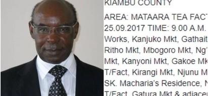 Kampuni ya Kenya Power yamuarifu S.K Macharia kuhusu mkatizo wa stima nyumbani kwake,Wakenya wazua midahalo mitandaoni