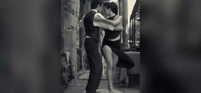 [WATCH] Boy stuns pretty woman with amazing salsa moves