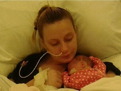 Woman in a coma has brain surgery AND a C-section and wakes up to her baby 7 weeks later
