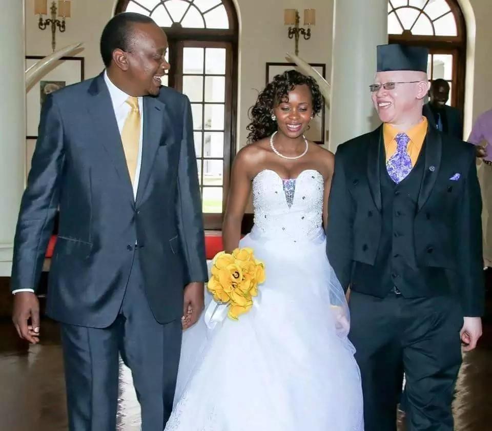 Issac Mwauras Wife