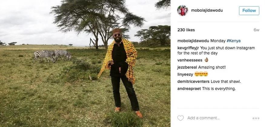 Lupita Nyongo's Nigerian boyfriend comes to Kenya (photo)
