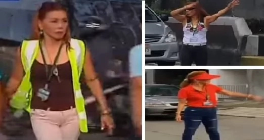 Fashionista traffic enforcer in QC goes viral