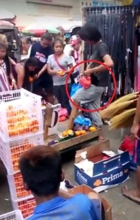 Divisoria vendors caught cheating customers