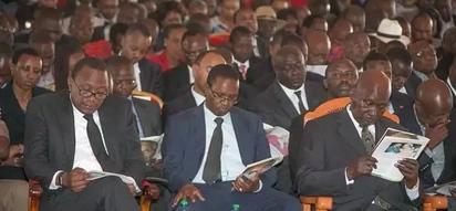 Rais mstaafu Daniel Moi awashangaza wakenya katika mazishi ya Ntimama