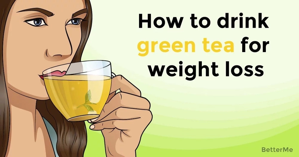 How to drink green tea and lose weight
