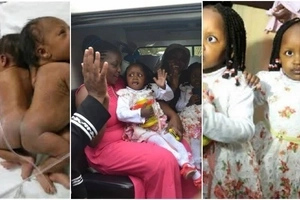 After 1000 days in hospital, separated twins finally leave for Meru (photos)