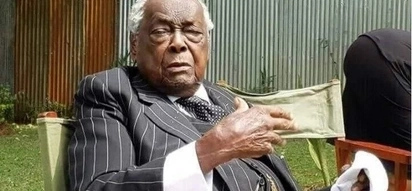 11 fantastic photos of Kenya's first ever attorney general in his immaculate suits as he turns 98
