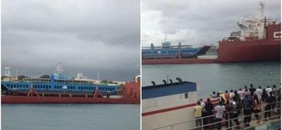 Photos of new KSh 2 billion ferry in Mombasa