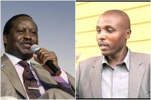Man behind 'Baba while you were away' receives BEST news from Raila