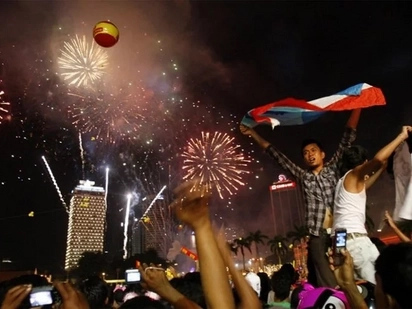 SWS Survey reveals that 95% of Filipinos will welcome 2017 with hope