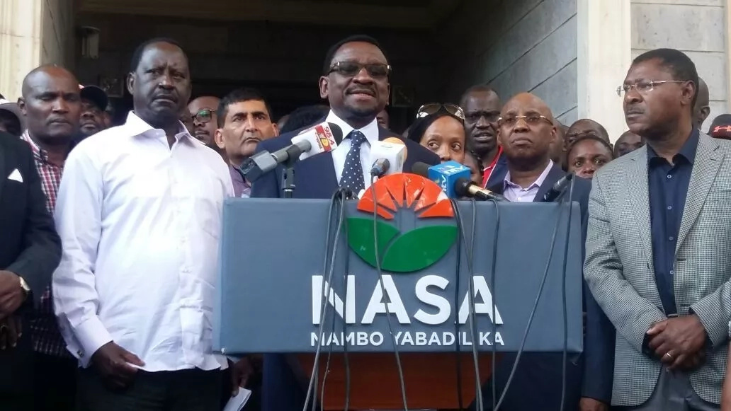 Immigration department suspends passports of NASA leaders