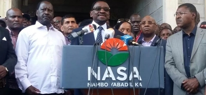 Government suspends passports of NASA leaders