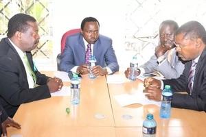 Viranja wa NASA wafanya mkutano wa dharura afisini mwa Raila Odinga