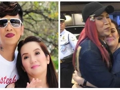 Na miss na niya si 'asawa' niya! Kris Aquino taps Vice Ganda via a comment on his post