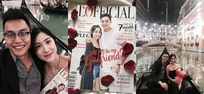 ADMU volleyball star Rex Intal just got his girl's sweetest YES in the most romantic way