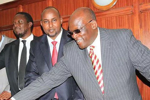 Aden Duale accused of being Ruto's lap dog by Junnet