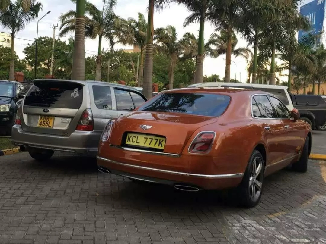 As you struggle to buy Unga and milk, some Kenyan just bought this 80 million cars (Photos)