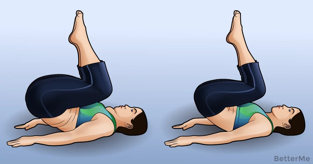 A quick 8-minute evening workout before bed