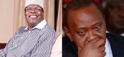 Miguna shares same thought with Uhuru for the first time over Matiba