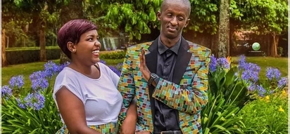Stunning photos of Njugush's younger brother who could be confused for his twin!
