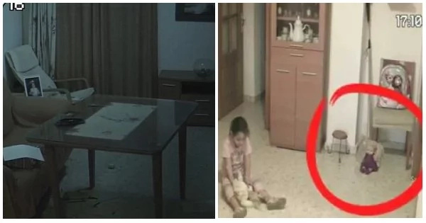 Watch: Father decides to investigate when his daughter complains about feeling scared while playing with her toys