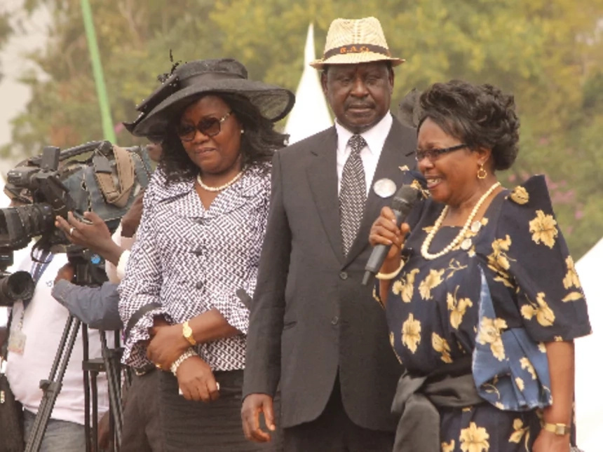 Raila Odinga and wife best photos