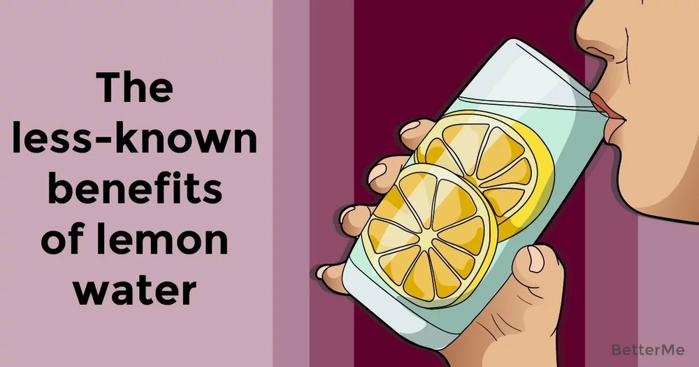 The less-known benefits of lemon water