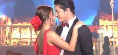 #Nakakakilig: Kathryn Bernardo makes everyone scream when she admits Daniel Padilla's a good kisser