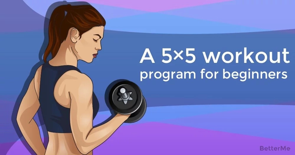A 5×5 workout program for beginners