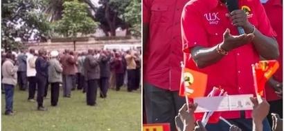 Wazee wafanya maombi ya kipekee katika makao ya Uhuru Kenyatta