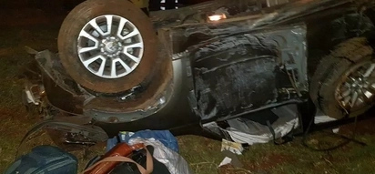 Mombasa Deputy Governor among five people who survived terrible road accident near Naivasha