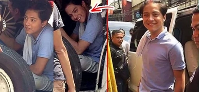 Basta driver, sweet lover nga ba? LOOK: Daniel Padilla is the hottest jeepney driver around town, these pictures are enough proof